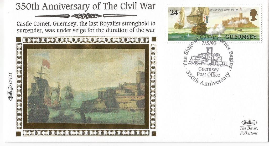 1993_350th anniversary the siege of castle cornet begins guernsey post office_g95.jpg