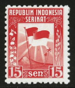 How The Netherlands Indies Stamps Transformed Into Indonesian Ones World