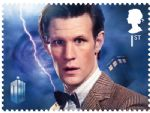 royal mail stamps - dr who - matt smith.jpg