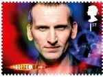 royal mail stamps - dr who - christopher ecclestone.jpg
