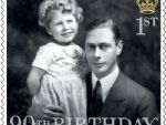 1 queens 90th birthday 1st with george vi 1930.jpg